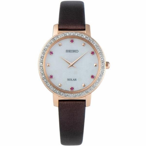 Стилен дамски кварцов часовник SEIKO