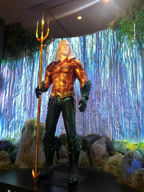 Exposition costumes Aquaman Studios Warner Bros Los Angeles