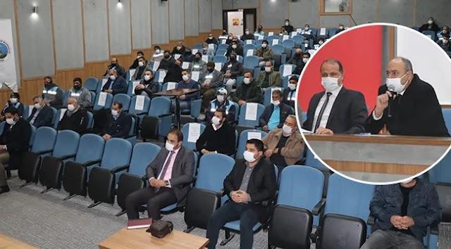 Başkan Aksoy, personelin taleplerini dinledi