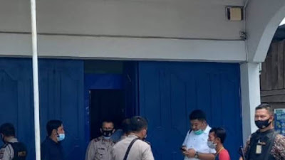 Bank Bri Unit Sebangar Km 18 Digasak Rampok Senjata Api