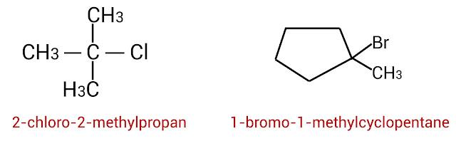 هاليدات الألكيل الثالثية R3-C-X