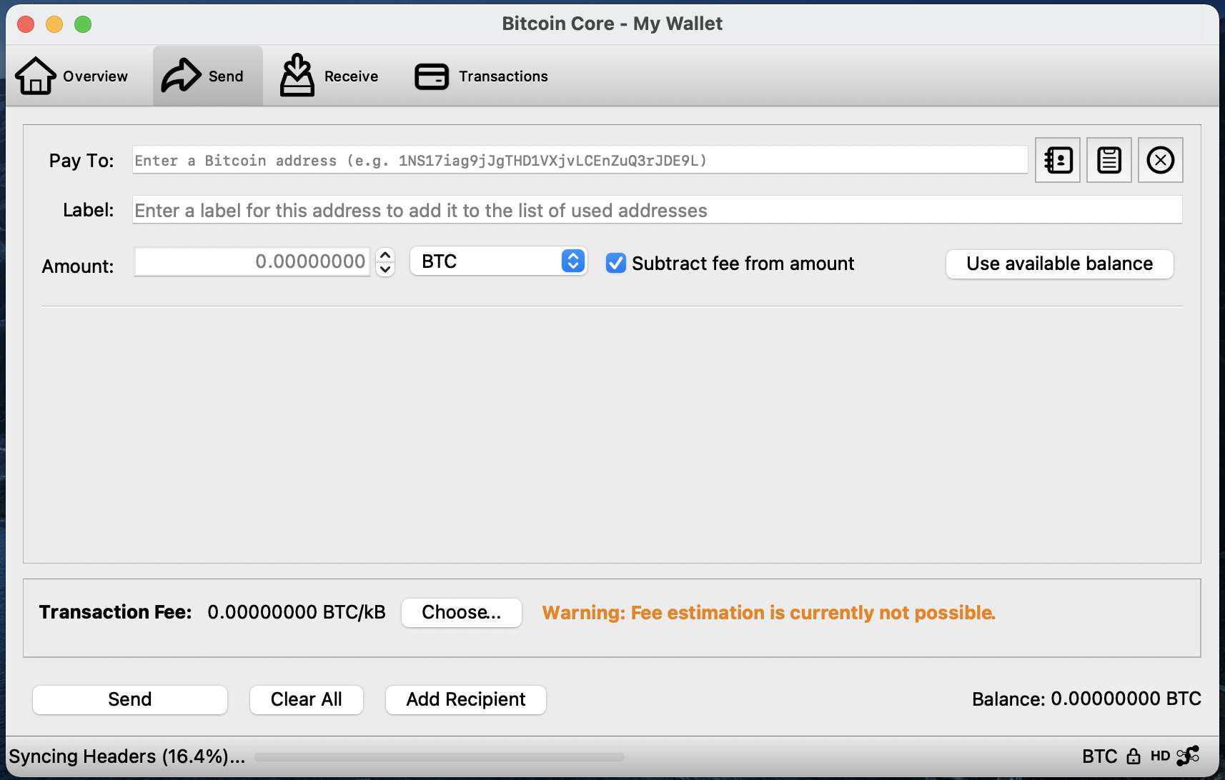 bitcoin-core-wallet