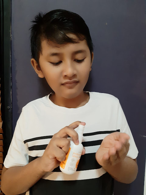 Oh My Orange Hand Sanitizer Gel