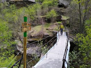 Puente Las Calderas. Río Bornova