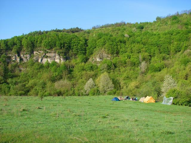 Наш лагерь в долине Тернавы