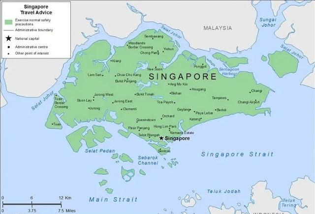 सिंगापुर की राजधानी क्या है - Capital of singapore in hindi