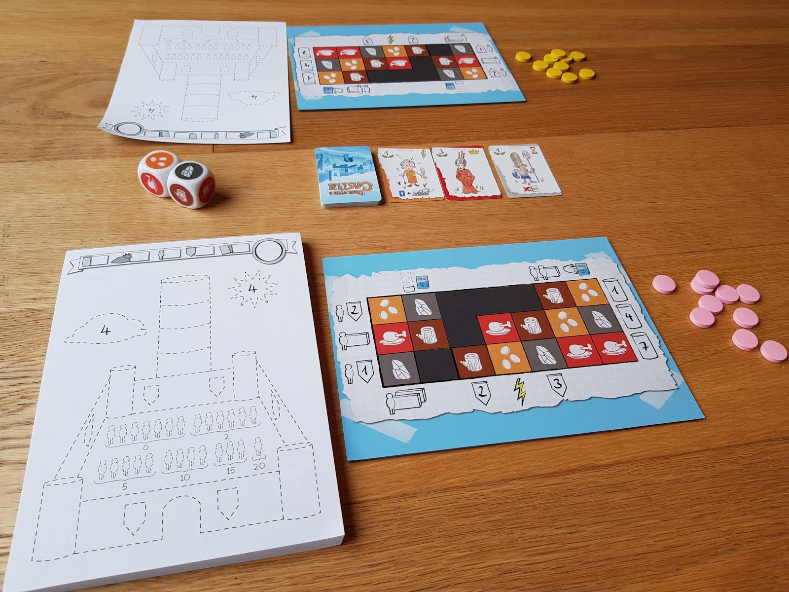 The Game Shelf The Game Shelf Reviews Once Upon A Castle