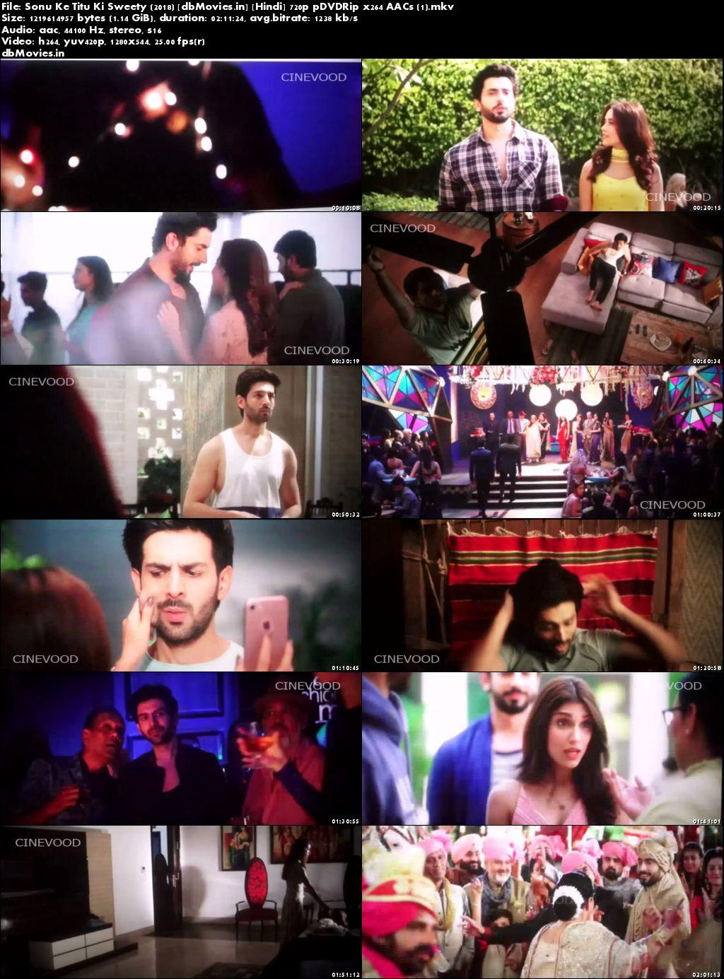 Screen Shots Sonu Ke Titu Ki Sweety 2018 Full Movie Download Hindi 720p