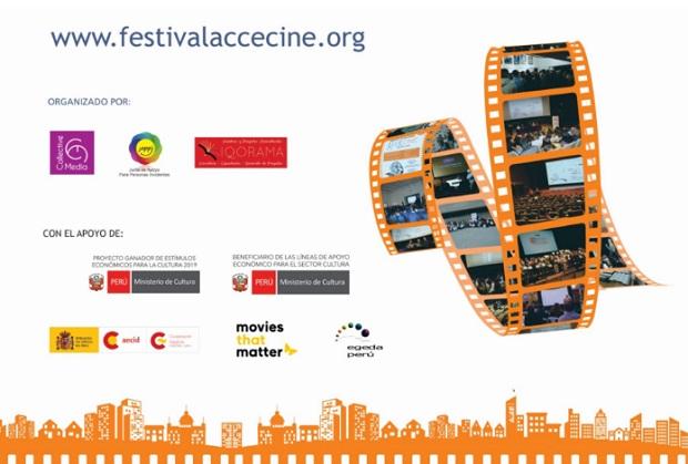 ¡Imperdible! Segundo Festival de Cine Accesible virtual llega del 26 al 31 de enero