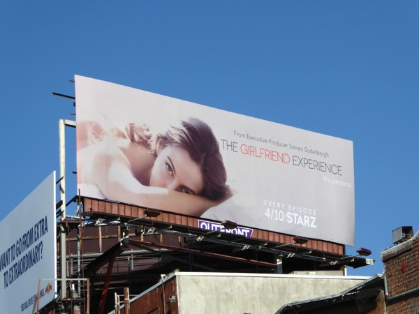 Girlfriend Experience series premiere billboard