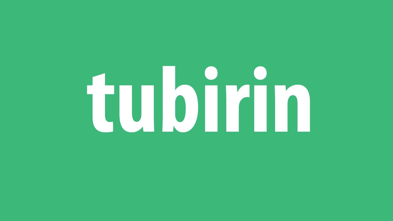 arti kata tubirin dalam bahasa gaul