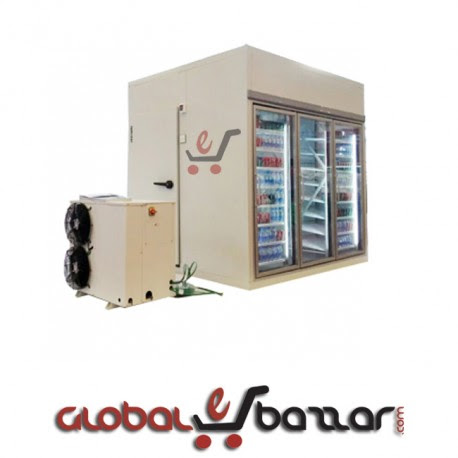 Supershop Glass Door Chiller Room for Beverage online in Bangladesh