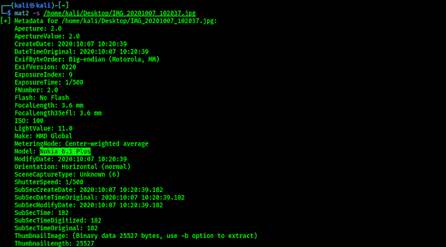 mat2 view metadata