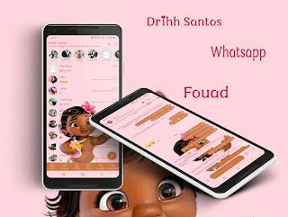 Moana Baby Theme For YOWhatsApp & Fouad WhatsApp By Driih Santos