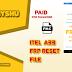ITEL A33 (W5001P) FRP RESET FILE
