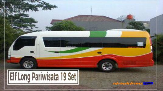 Elf Long Pariwisata 19 Seat