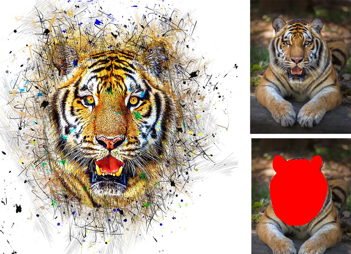Color Pen Photoshop Action 27021780 Download