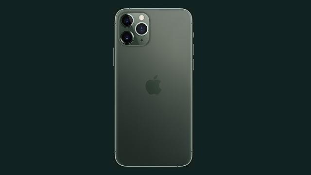 tampak belakang iphone 11 pro