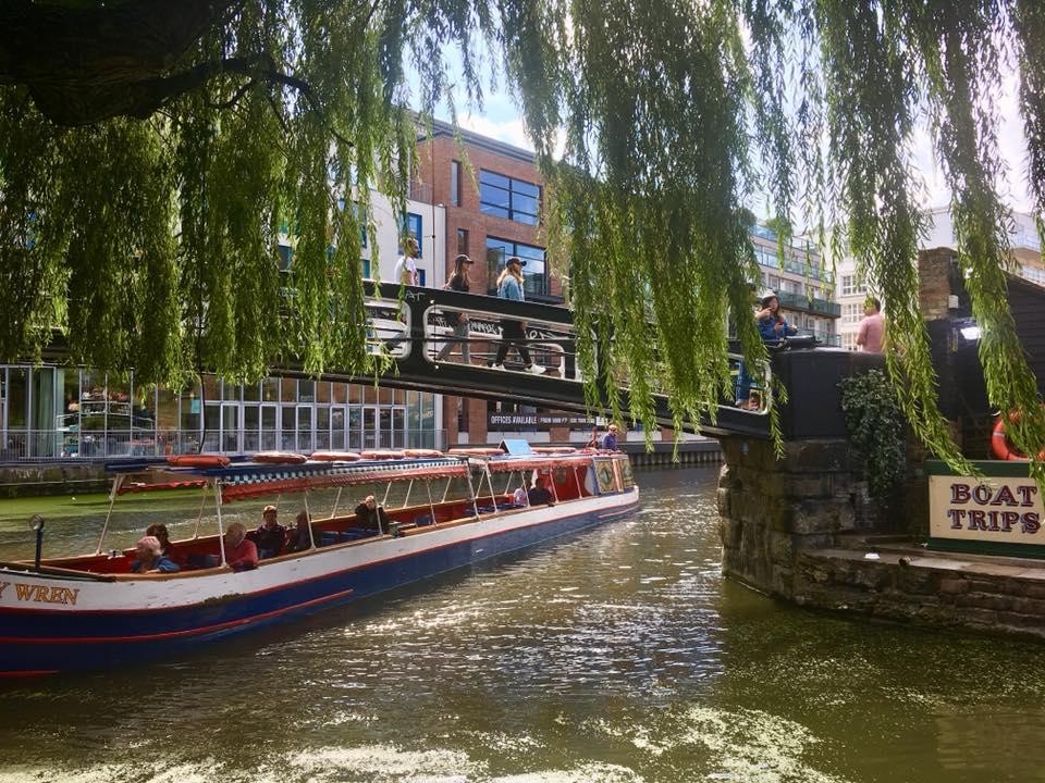 camden market boat