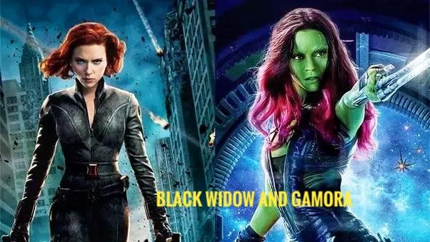 Timeline Avengers: Endgame Natasha Romanoff and Gamora