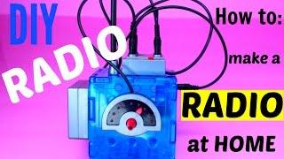 DIY Radio : How to Make FM Radio by Wonderology