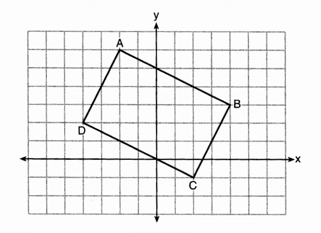 X why january 2016 new york geometry common core part 1 when abcd is rotated 90 in a counterclockwise direction about the origin its image is quadrilateral a b c d is distance preserved under this rotation ccuart