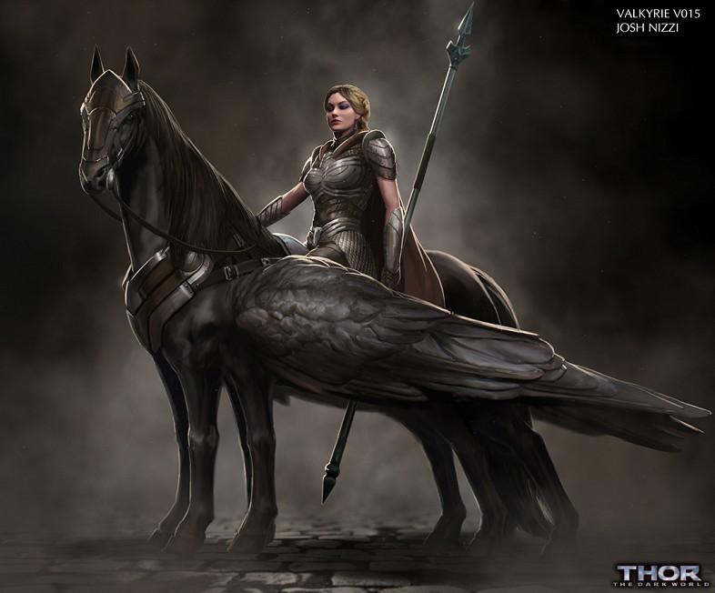 Mostly MCU Reviews: Rumor Has It    Valkyrie in Thor: Ragnarok