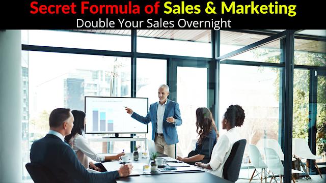 Secret formula of sales and Marketing.