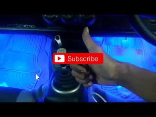 Cara pasang lampu kolong dashboard mobil