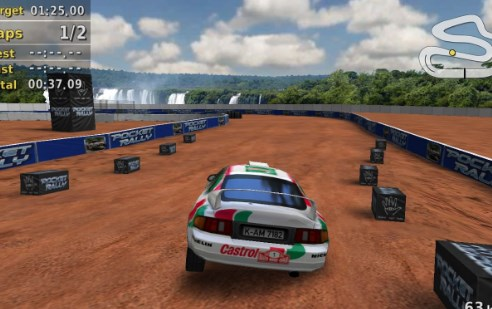 Typing Race Car Game