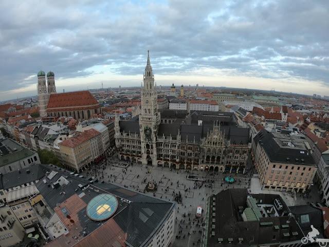 Marienplatz vista aerea