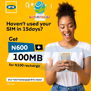 How to get free Airtime and data with MTN WinBack Offer