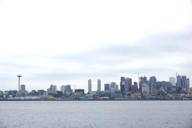 west seattle skyline water taxi