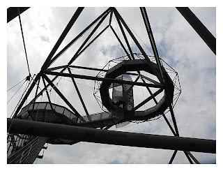Tetraeder - Aussichtsplattform