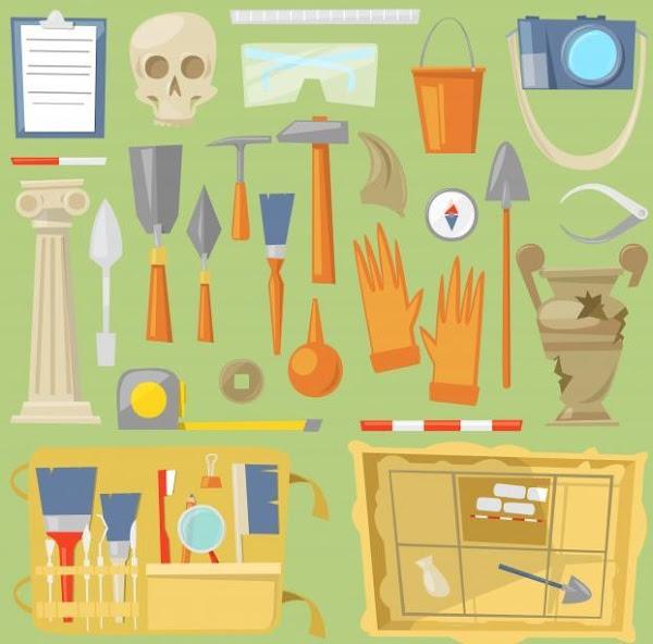 Peralatan Dalam Arkeologi Serta Tahapan Pada Analisis Hasilnya