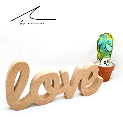 love de madera decoracion