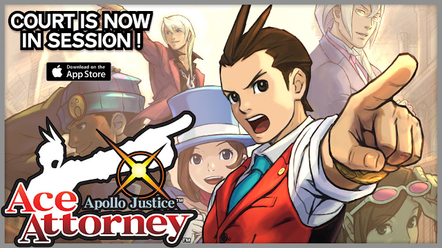 Apollo Justice Ace Attorney mobile app Apple