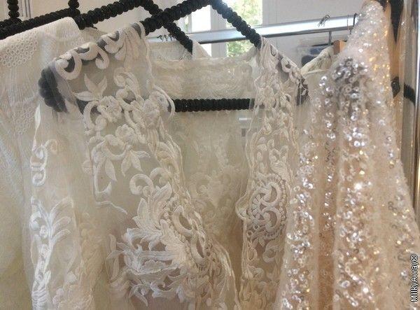 Robes de mariée à l'atelier Gisèle & Simone