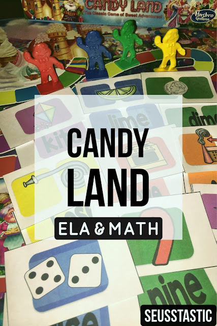 Candy Land Word Work