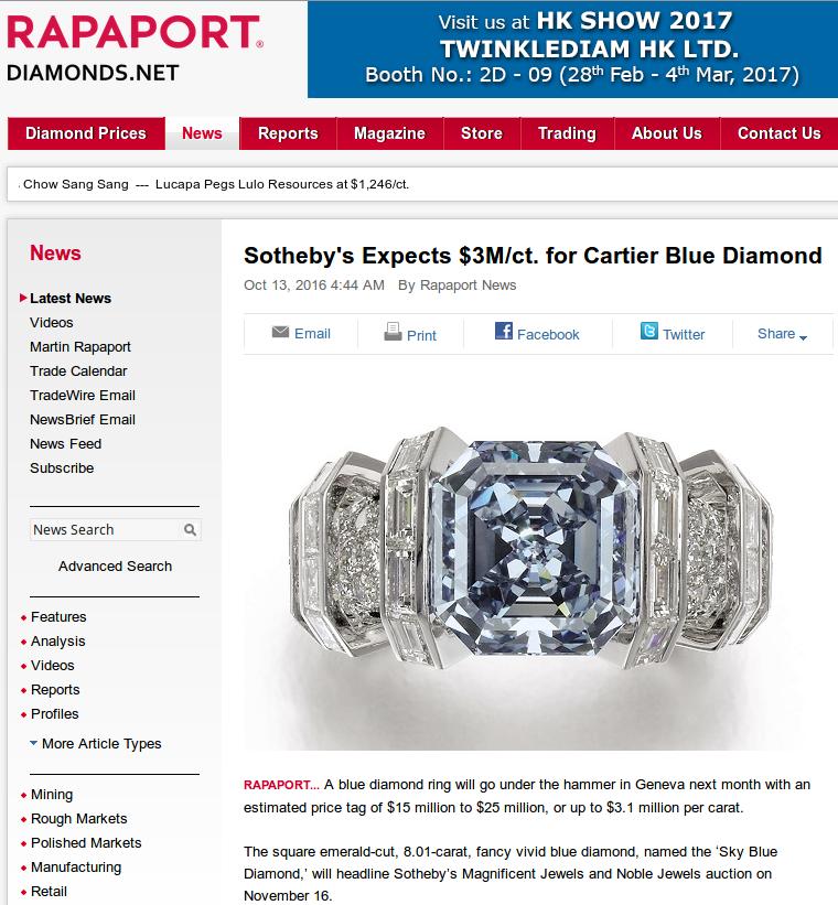 Diamonds And Precious Gems: March 2017