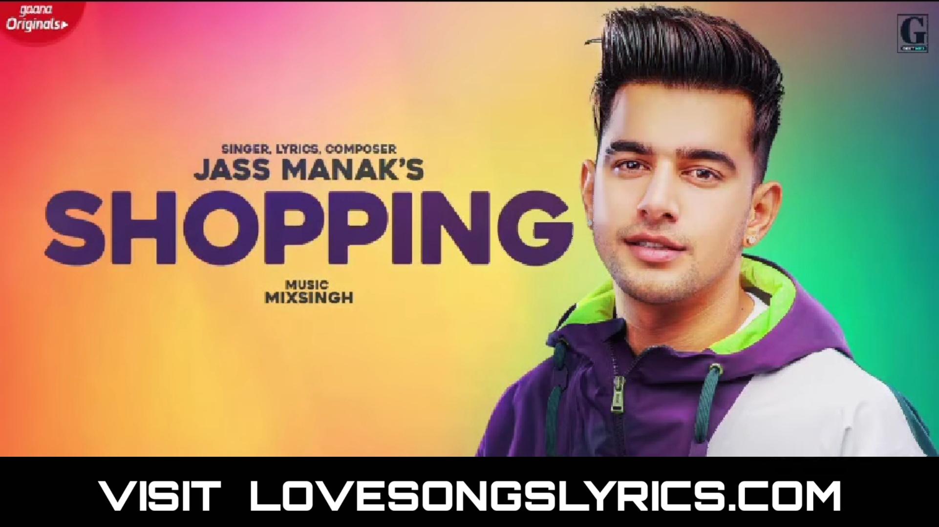 Shopping Song Lyrics In Hindi