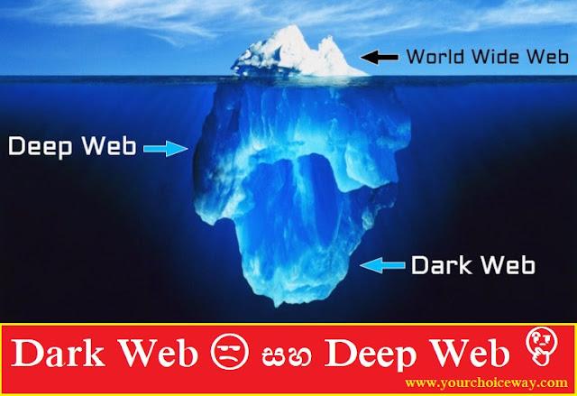 Dark Web 😒 සහ Deep Web 🤔 - Your Choice Way