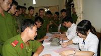 Hướng dẫn thực hiện BHYT với thân nhân chiến sĩ công an nhân dân