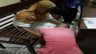 Hidungnya Patah Akibat Dipukul Muridnya, Bu Guru Osi Wulandari Memaafkan dan Jenguk Sang Murid Dipenjara