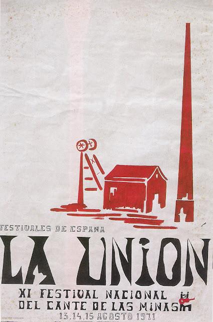 Cartel del Cante de las Minas de 1971