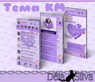 Cute Love Theme For YOWhatsApp & Fouad WhatsApp By Deia Silva