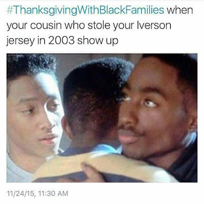 Thanksgiving with Black Families Instagram