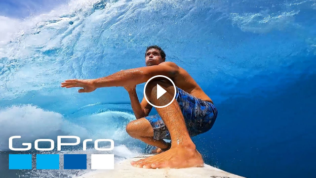 GoPro Surfing Crystal Clear Waves of Teahupo o with Tereva David