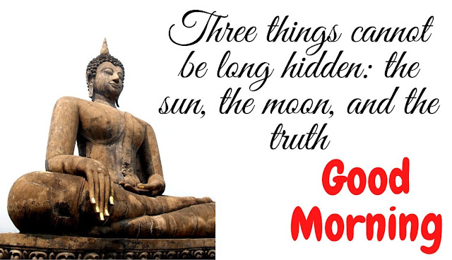 good morning gautam buddha quote