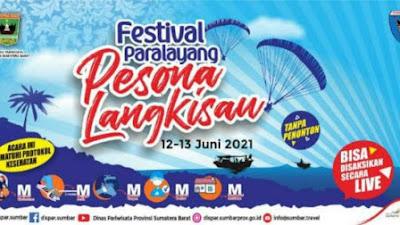 Ratusan Atlet Bakal Meriahkan Festival Paralayang Pesona Langkisau